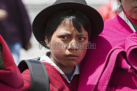 ecuadorian boy guamote chimborazo ecuador