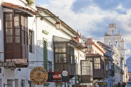 houses with moorish balconies sucre chuquisaca