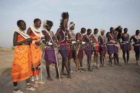 fahrt reisen kultur afrika kenia portrait