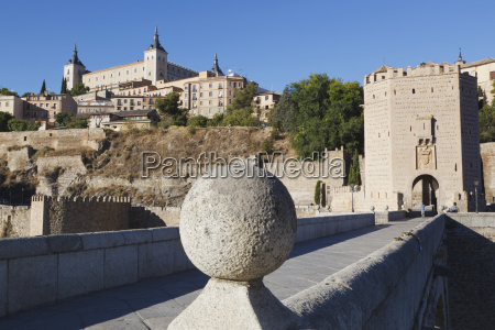 the alcantara bridge and the alcazar