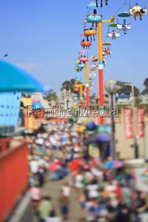 boardwalk and aerial ride santa cruz