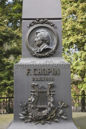 frederic chopin monument zelazowa wola poland