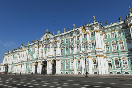 winter palace st petersburg russia