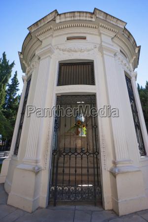 mausoleum at the cementerio general general