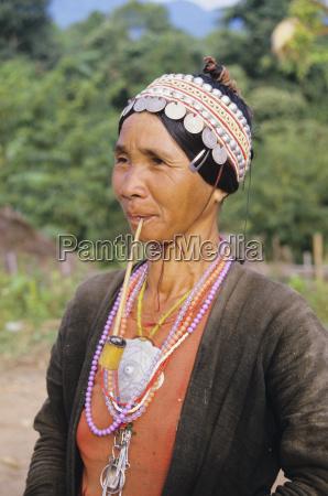 thailand akha village near ching mai