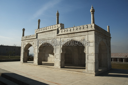marble mosque at the bagh i