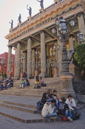 mexico guanajuato guanajuato group of people