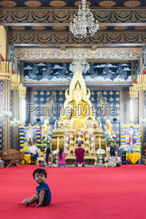 thailand chiang mai baby sitting alone