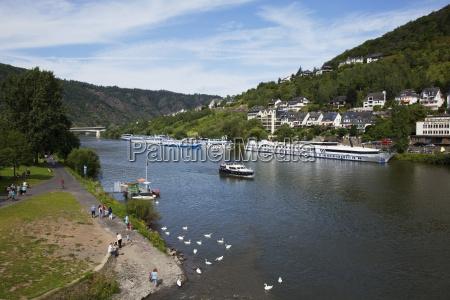 germany rheinland pfalz boats on river