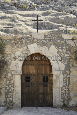 spain castile la mancha shrine overlooking