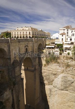 spain andalusia new bridge over el