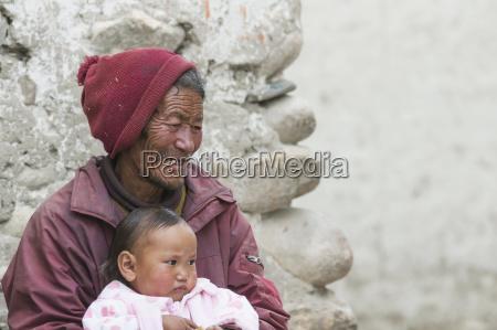nepal mustang region alter ureinwohner von