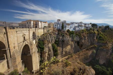 view of the roman bridge and