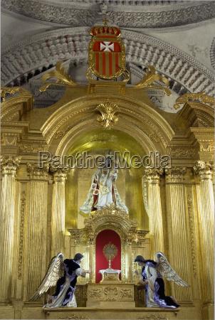guatemala antigua interieur der kirche nuestra