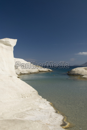 greece cyclades island of milos volcanic