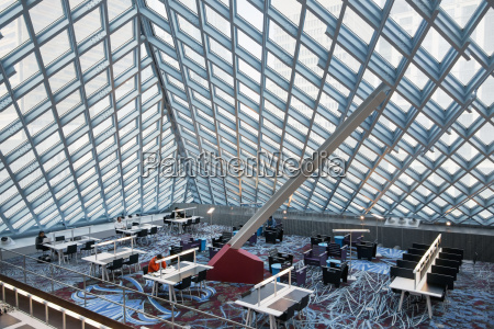 top floor der seattle central library