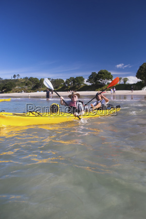 kayaking on the coromandel peninsula from