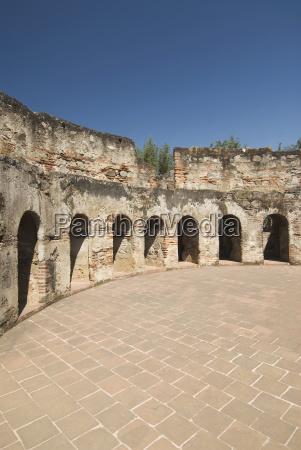 guatemala antigua das zerstoerte kloster von