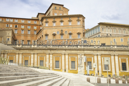 steps in vatican city rome italy