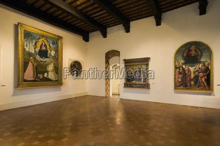 civic museum san gimignano tuscany italy