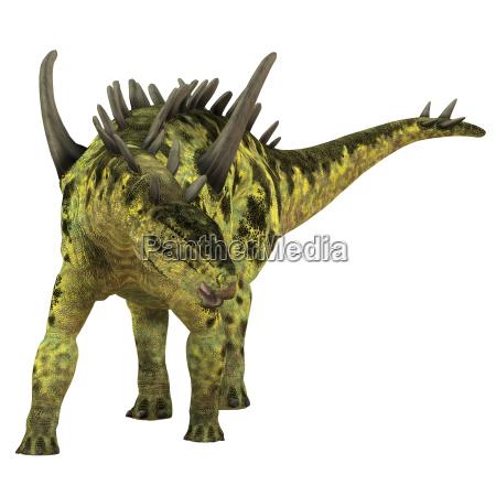 gigantspinosaurus pflanzenfresser dinosaurier