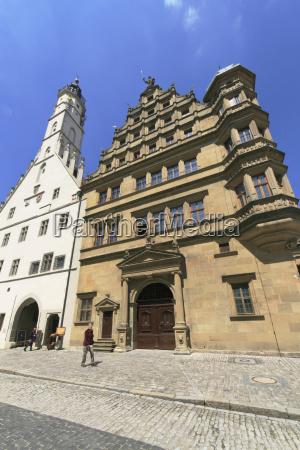 rathaus town hall rothenburg ob der