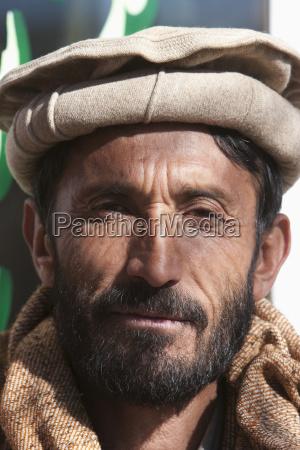 afghan man in bamiyan bamian province