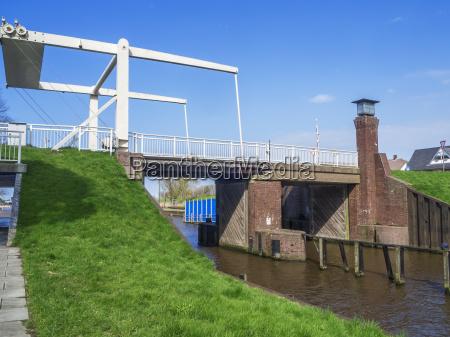 bascule bridge friedrichs sluice