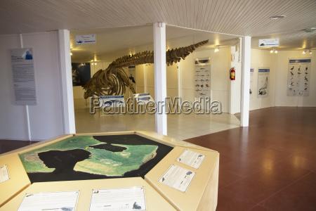 visitor centre on istmo carlos ameghino