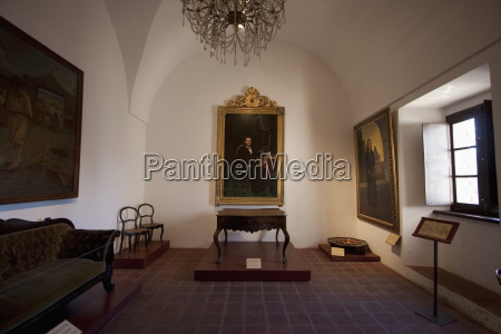 19th century paintings and furniture on