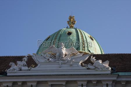 kunst kuppel wien barock austria europa
