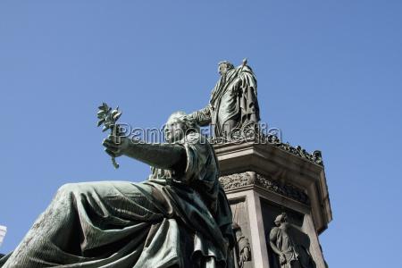 denkmal monument kunst statue wien barock