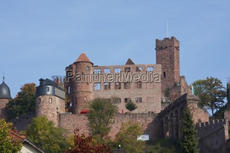 wertheim castle in wertheim am main