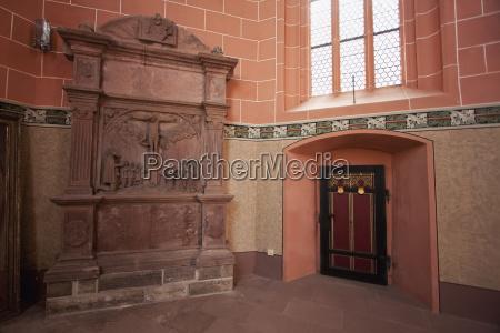 interior of st kilians chapel wertheim