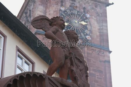 angels well sculpture in wertheim am