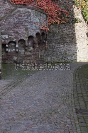 road to the wertheim castle wertheim