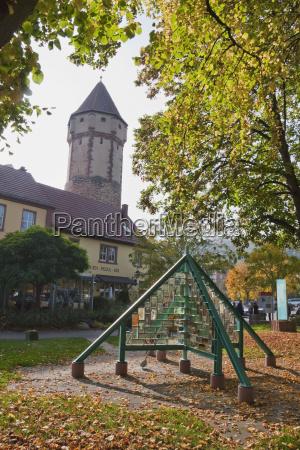 spitzer turm pointed tower wertheim am