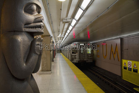 museum subway station of the ttc
