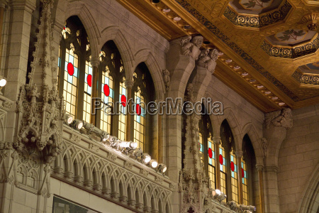 stained glass windows of the senate