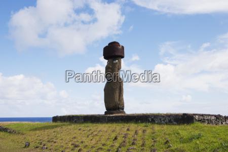 der moai von ahu ko te