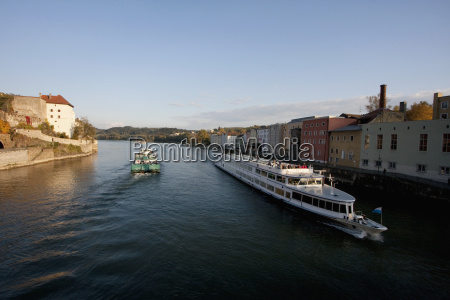 cruise ship on the danube river