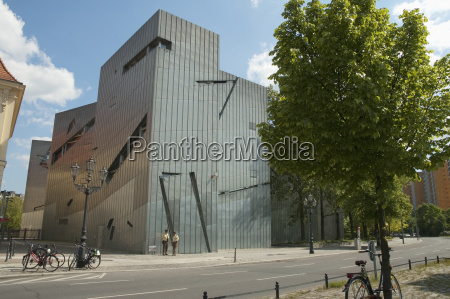 the libeskind building of the jewish
