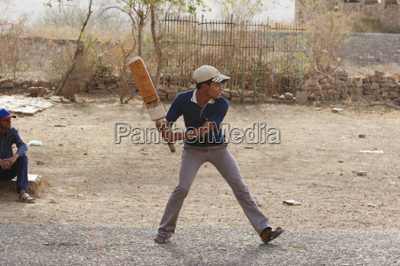 boys playing cricket gwalior madhya pradesh