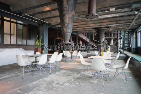 cafe in the coal washing plant