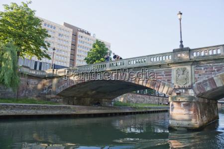 pont du marche bridge over the