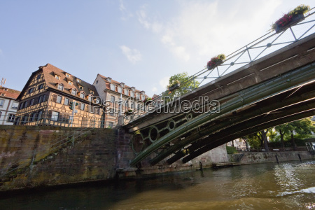 bridge and alsatian houses on the