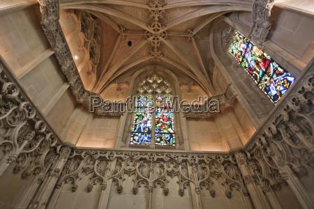 interior of the chapel of saint