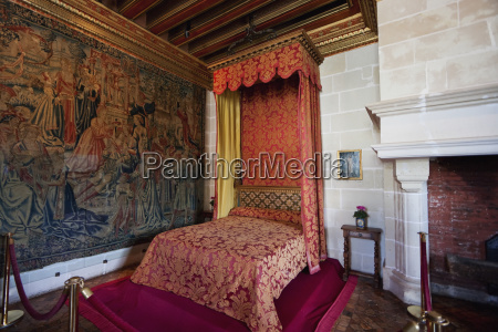 bedroom of gabrielle destrees in the