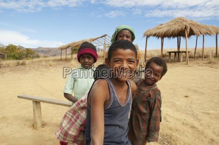 children anja fianarantsoa province madagascar