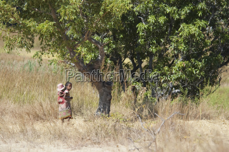 children in isalo national park fianarantsoa
